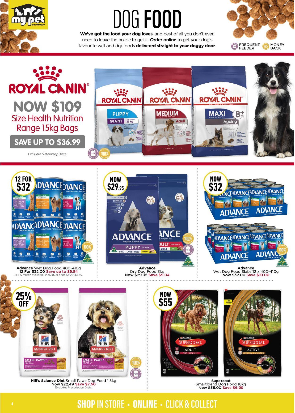 My Pet Warehouse Catalogue - 29/06-26/07/2020 (Page 4)