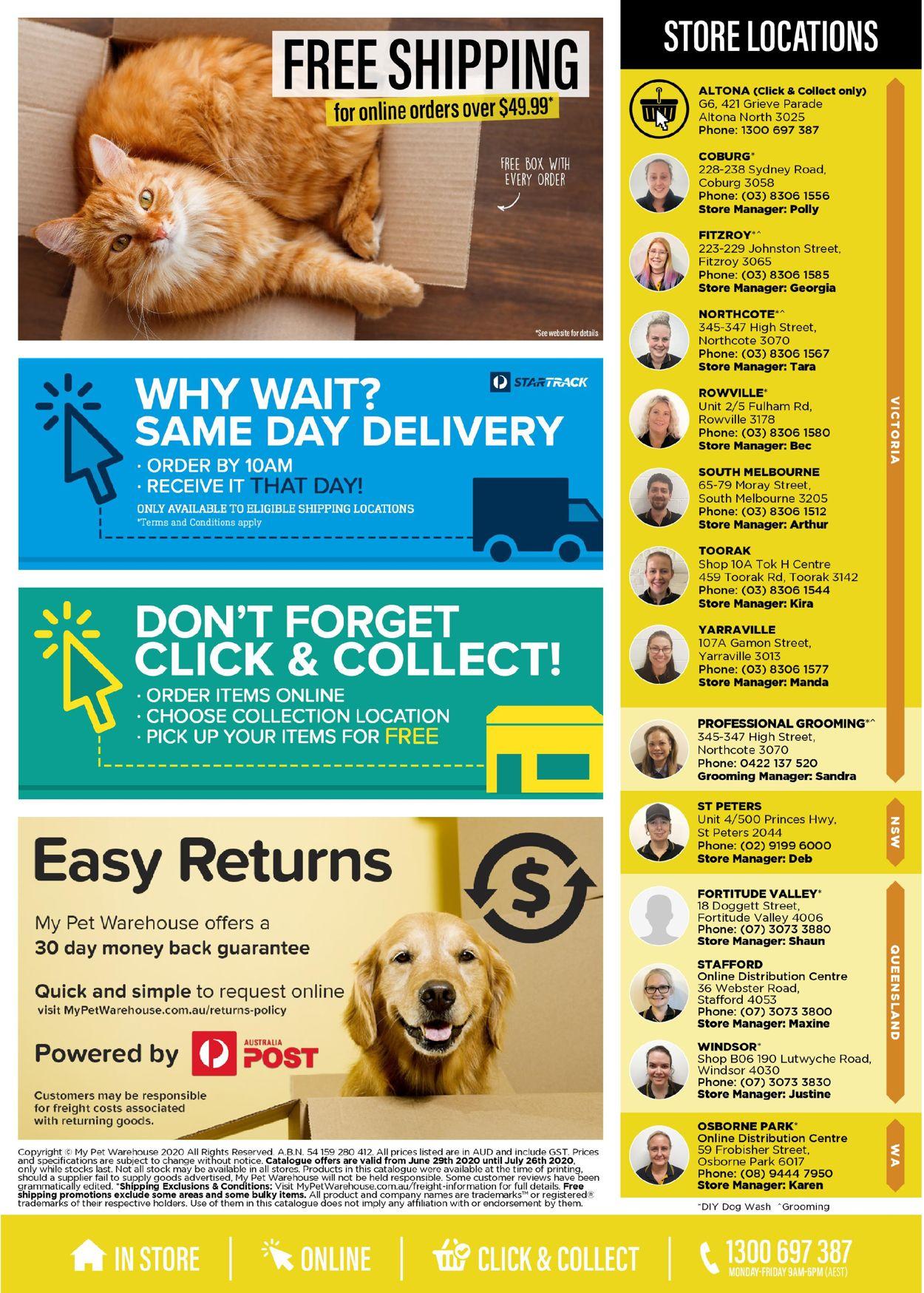 My Pet Warehouse Catalogue - 29/06-26/07/2020 (Page 16)