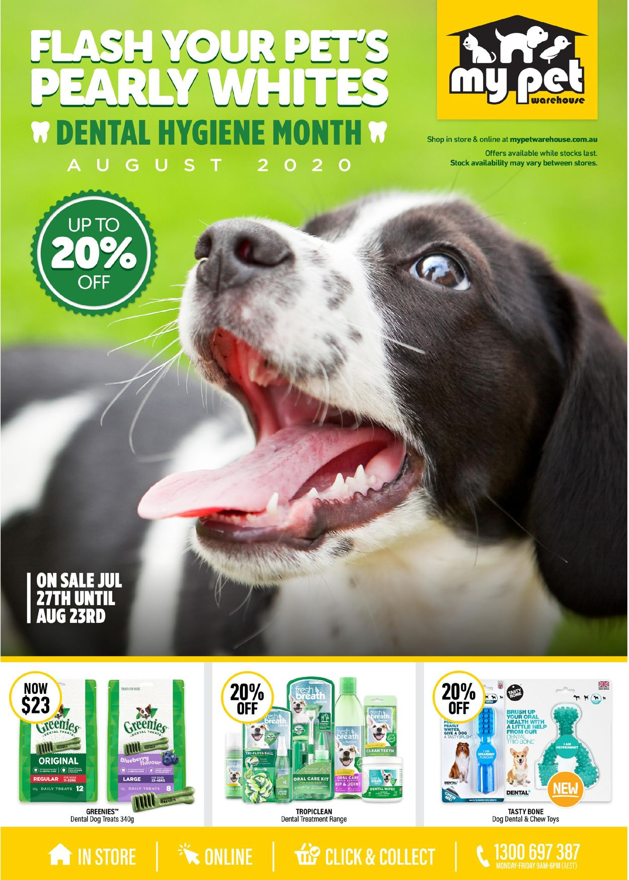 My Pet Warehouse Catalogue - 27/07-23/08/2020