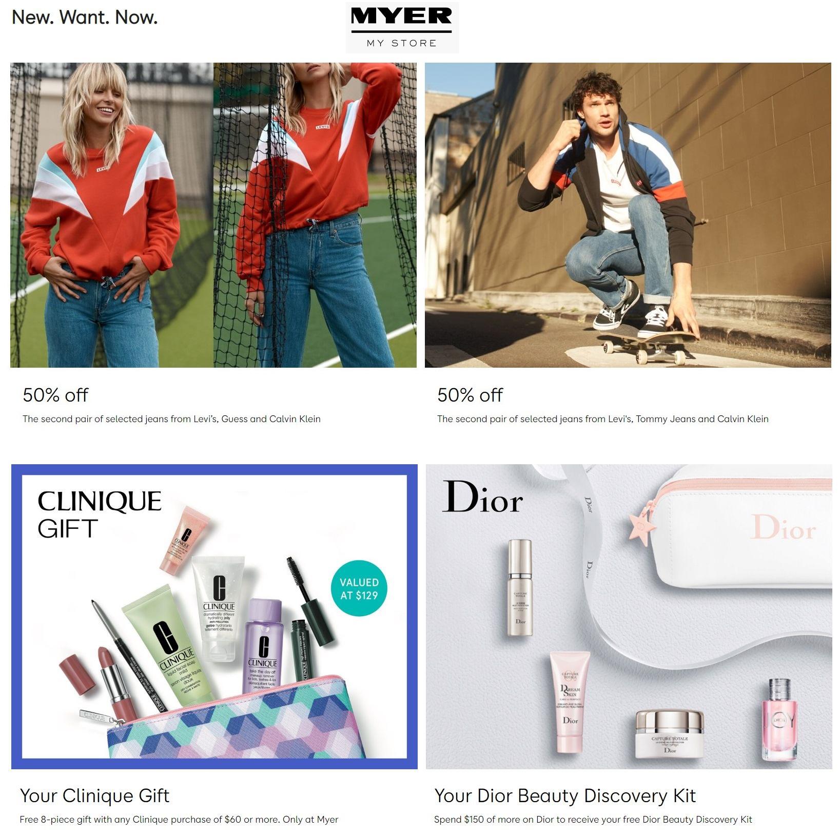 Myer Catalogue - 08/08-14/08/2019