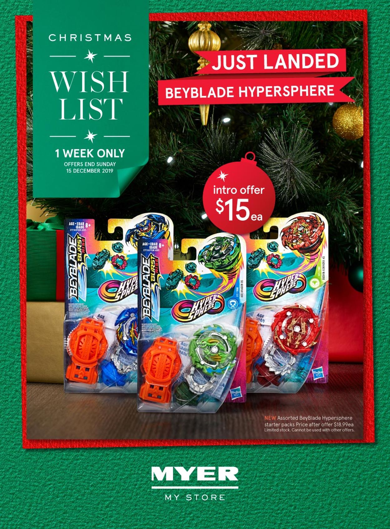 Myer Christmas Catalogue 2019 Catalogue - 09/12-15/12/2019