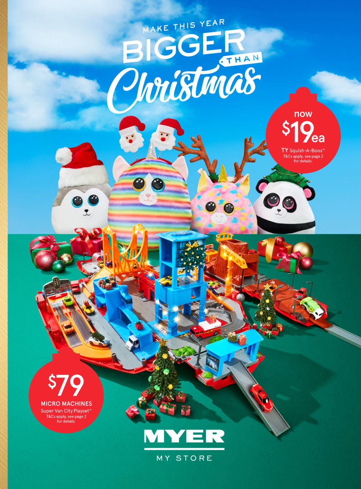 Myer Christmas 2020 Catalogue - 09/11-24/12/2020