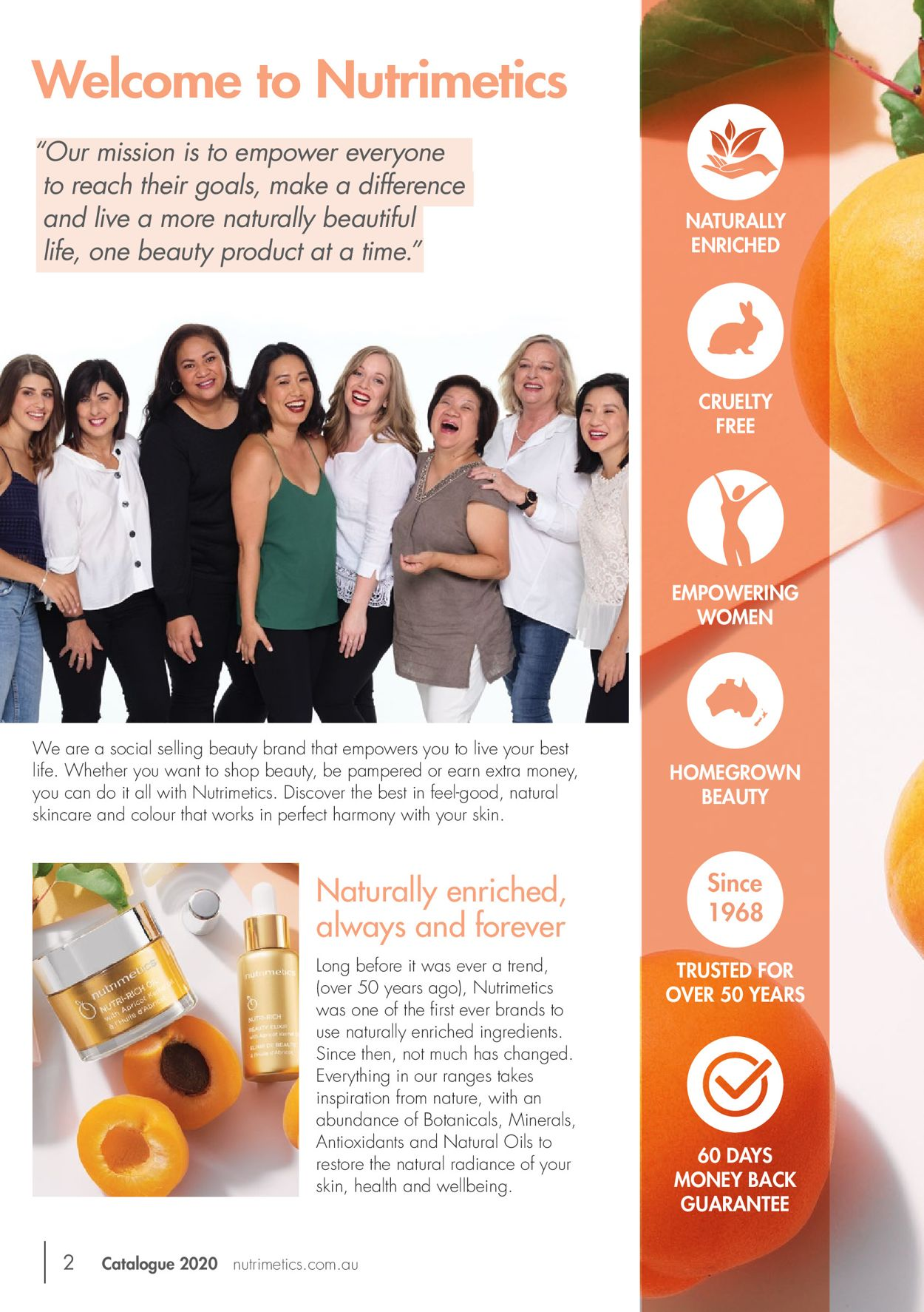 Nutrimetics Catalogue - 16/01-31/03/2020 (Page 2)