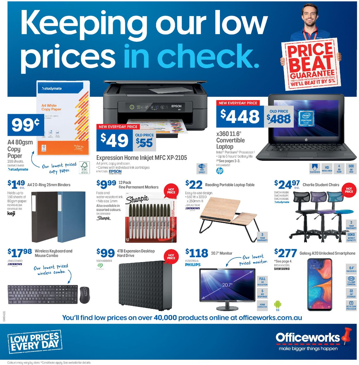 Officeworks Catalogue - 05/03-18/03/2020