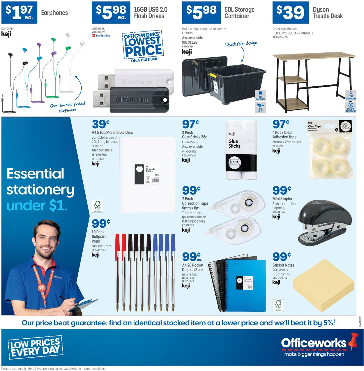 Officeworks Catalogue - 05/03-18/03/2020 (Page 24)