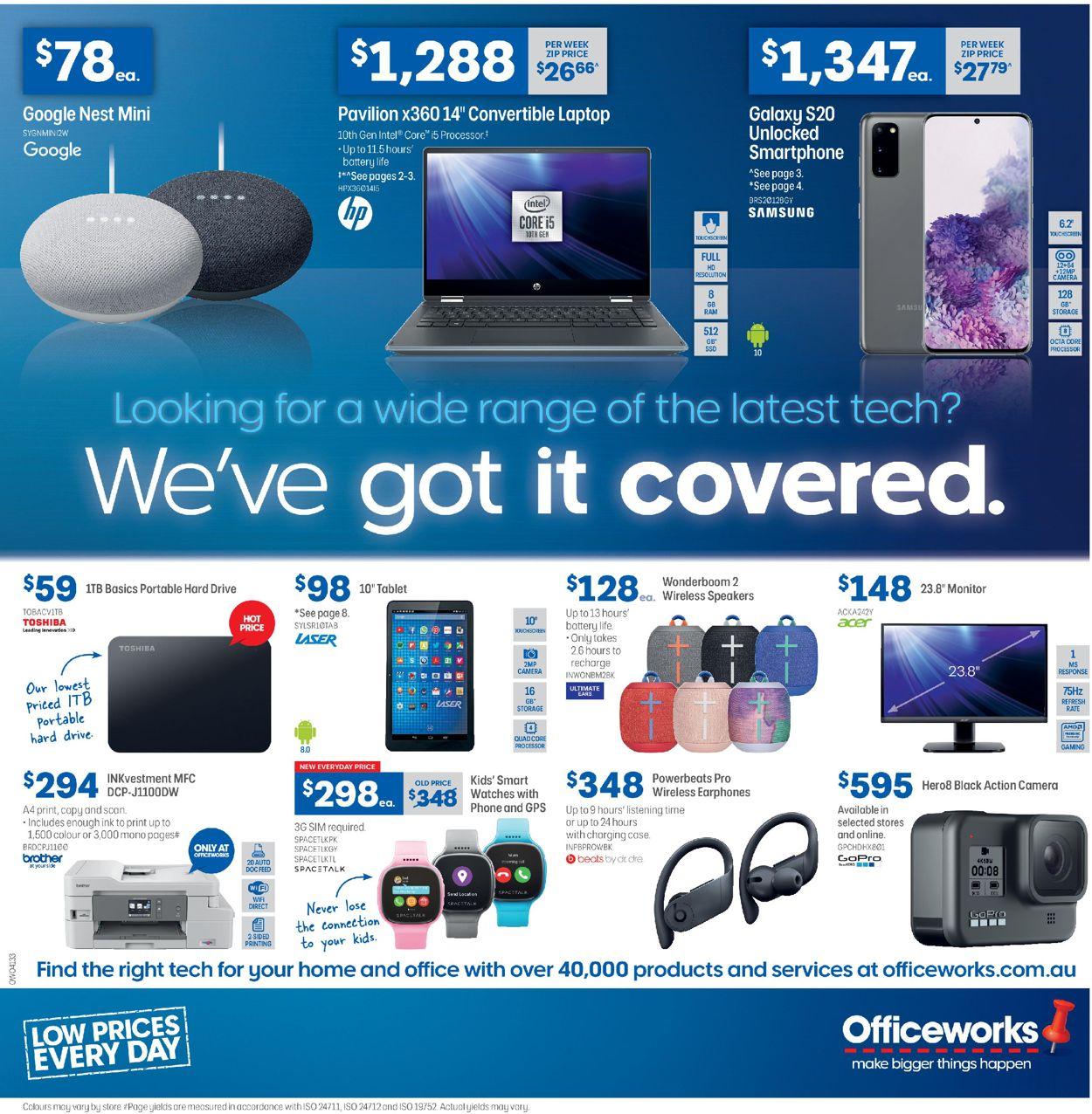 Officeworks Catalogue - 19/03-08/04/2020