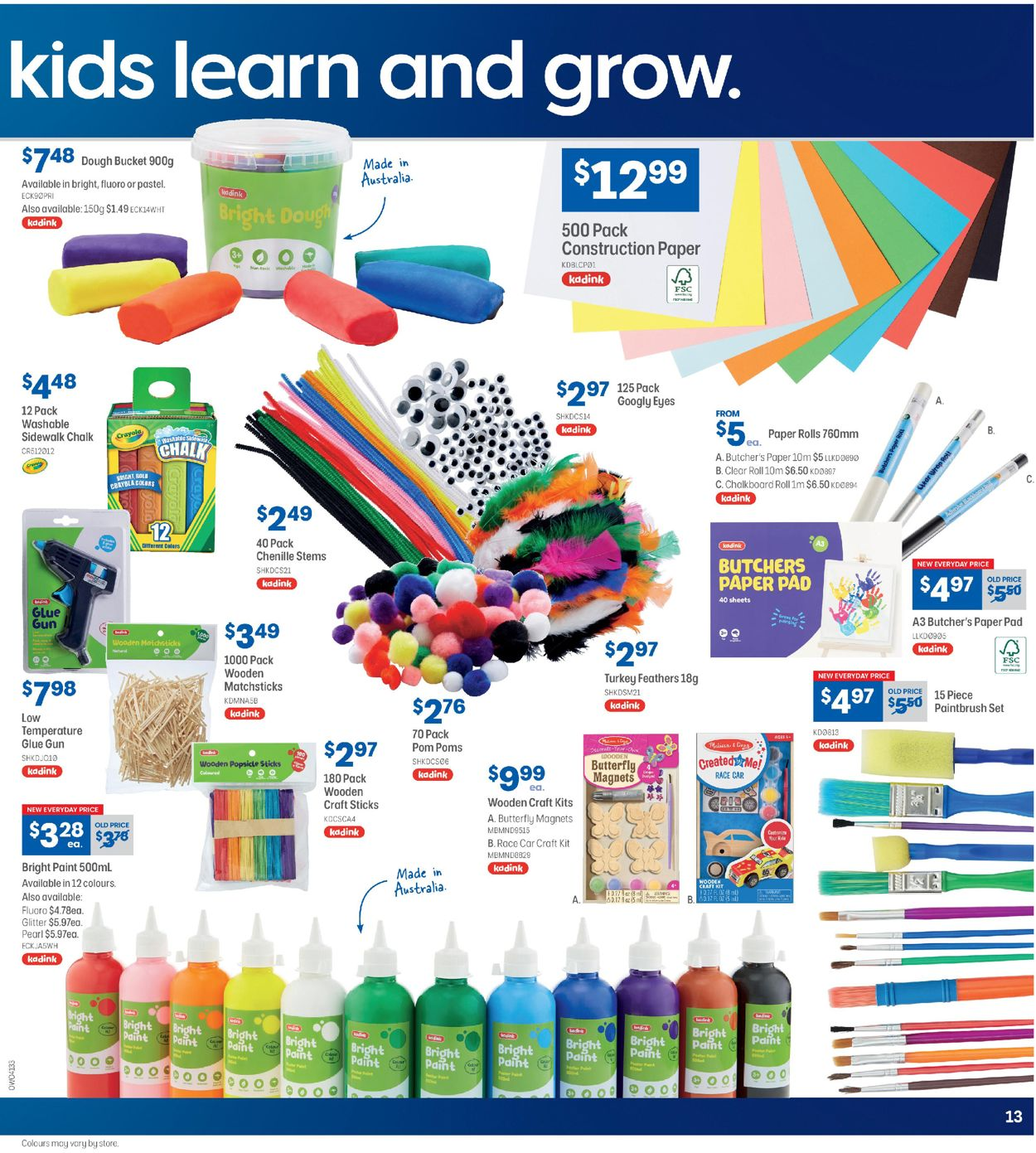 Officeworks Catalogue - 19/03-08/04/2020 (Page 13)