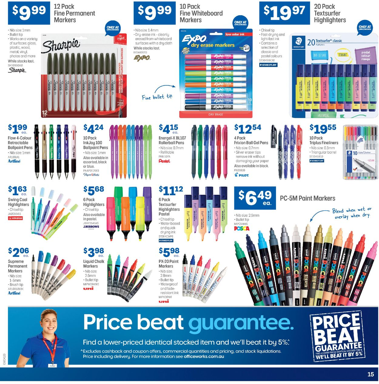 Officeworks Catalogue - 19/03-08/04/2020 (Page 15)