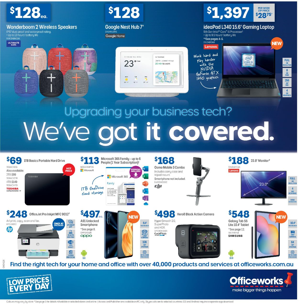 Officeworks Catalogue - 28/05-10/06/2020
