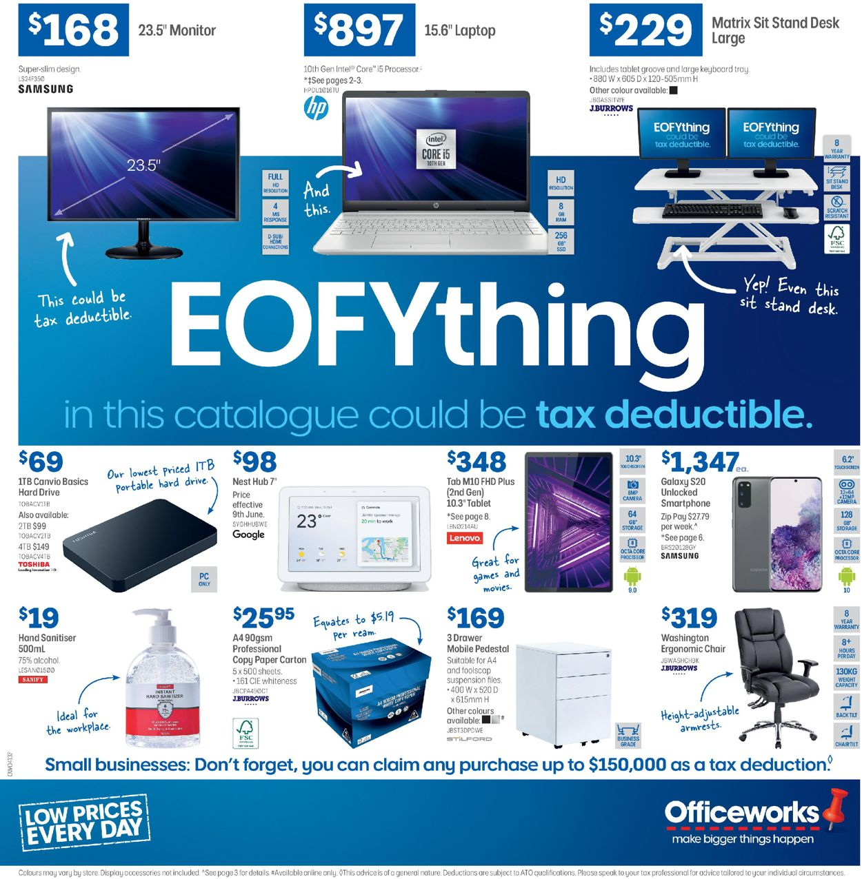 Officeworks Catalogue - 11/06-24/06/2020