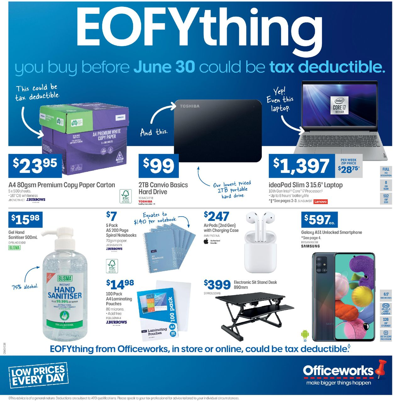Officeworks Catalogue - 25/06-30/06/2020