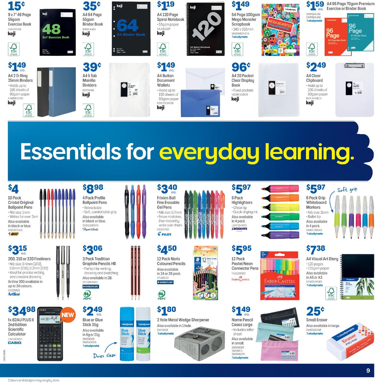 Officeworks Catalogue - 16/07-29/07/2020 (Page 9)