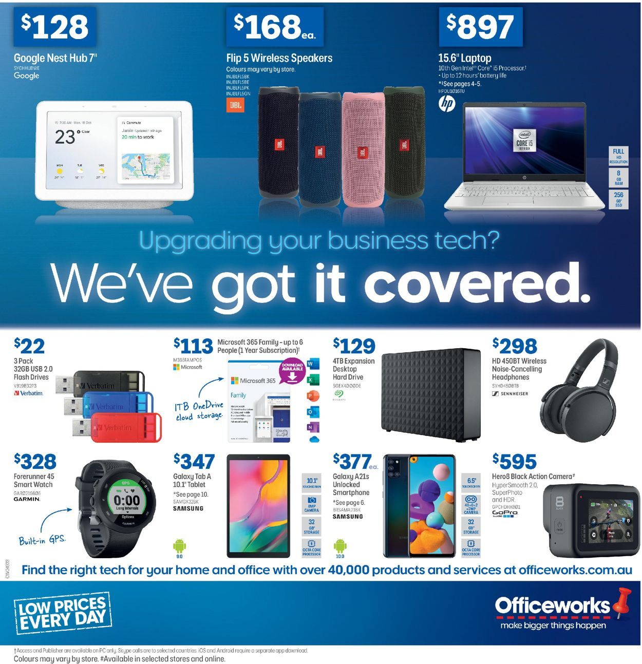 Officeworks Catalogue - 30/07-13/08/2020