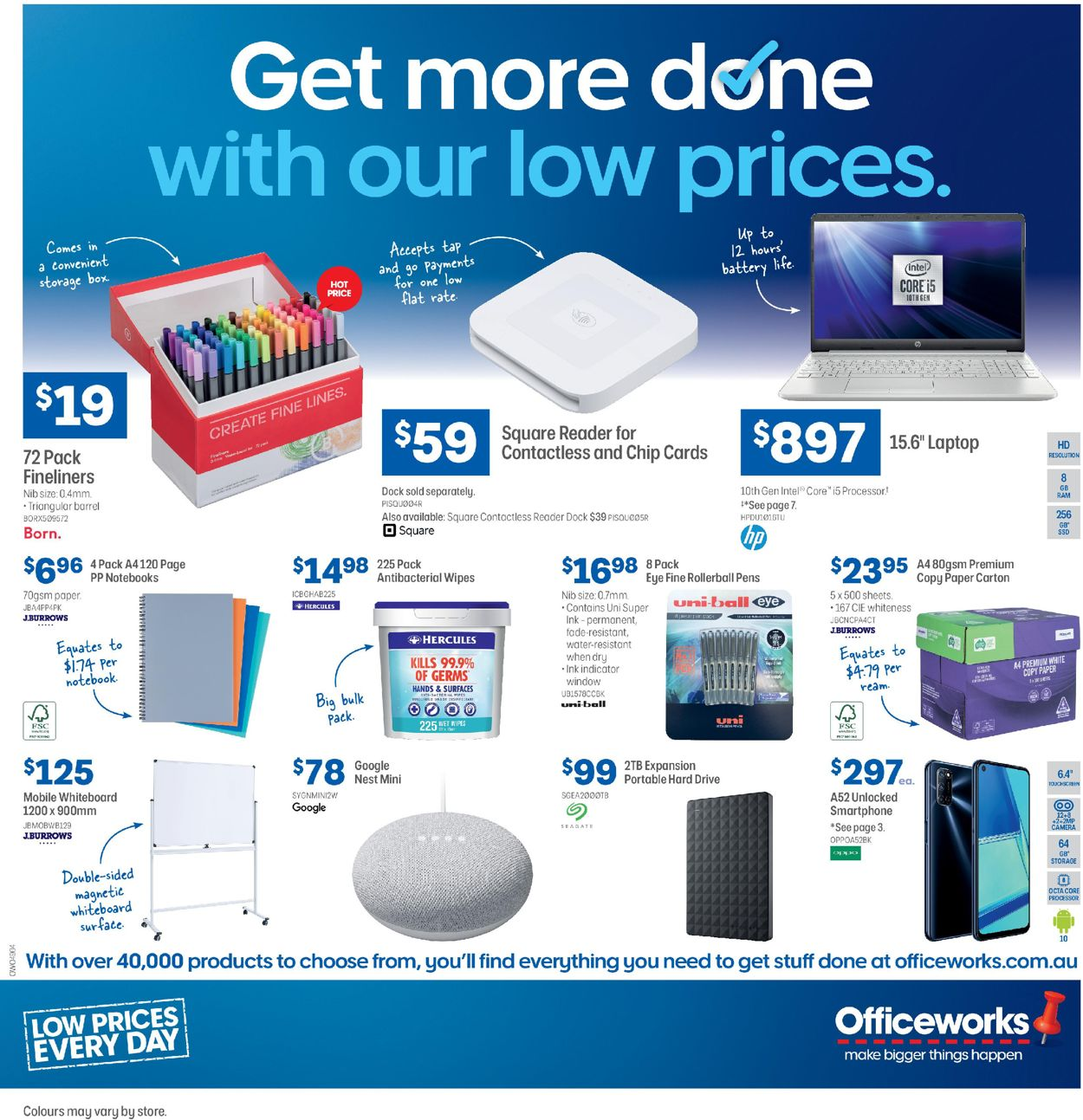 Officeworks Catalogue - 20/08-02/09/2020