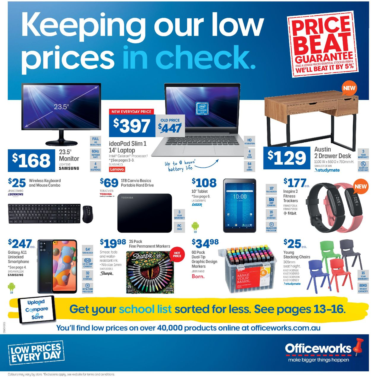 Officeworks Catalogue - 08/10-21/10/2020
