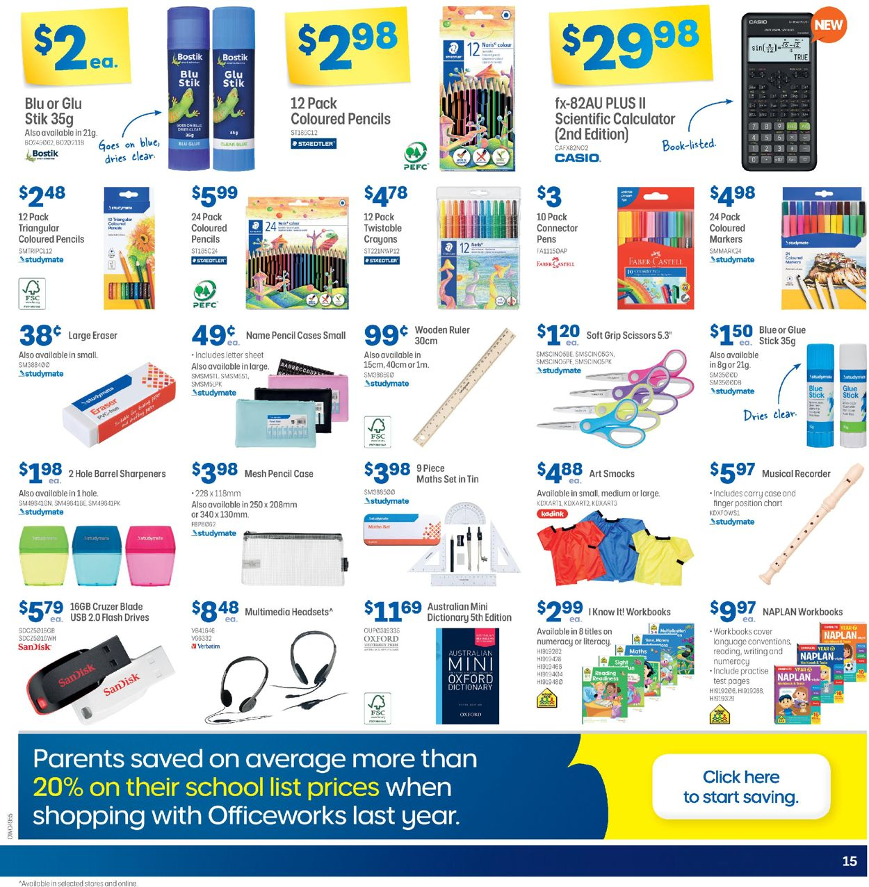 Officeworks Catalogue - 08/10-21/10/2020 (Page 15)