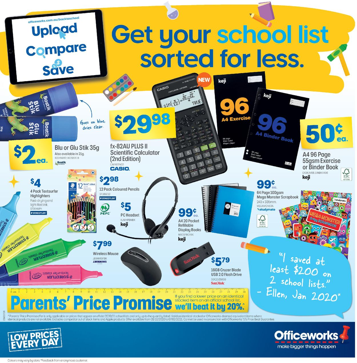 Officeworks Catalogue - 15/10-29/10/2020