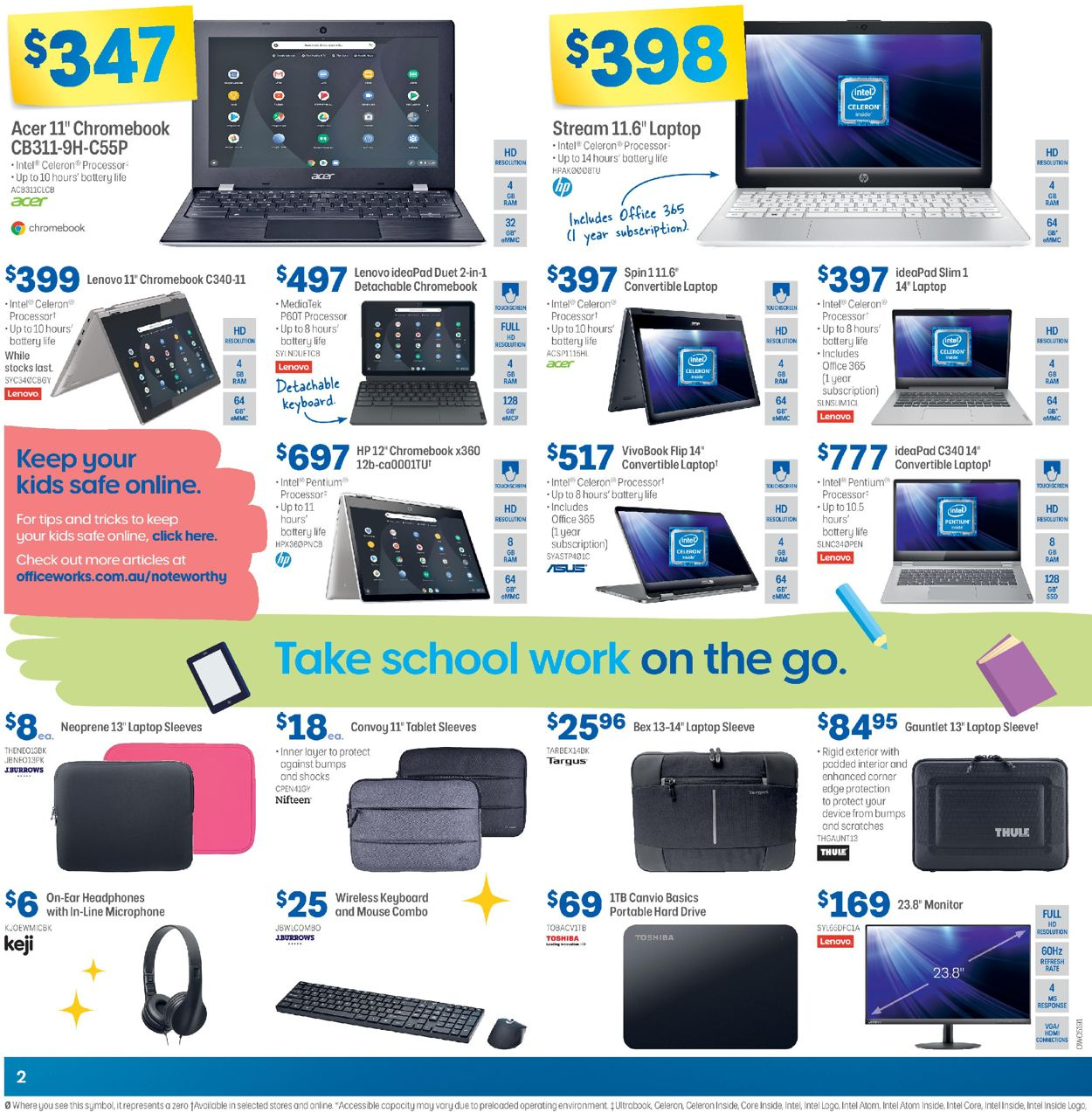 Officeworks Catalogue - 05/11-19/11/2020 (Page 2)