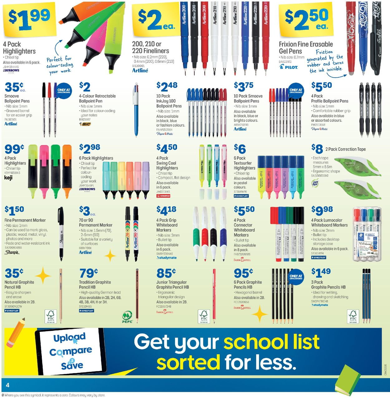Officeworks Catalogue - 05/11-19/11/2020 (Page 4)