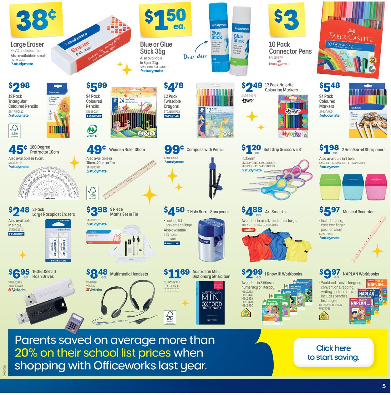 Officeworks Catalogue - 05/11-19/11/2020 (Page 5)