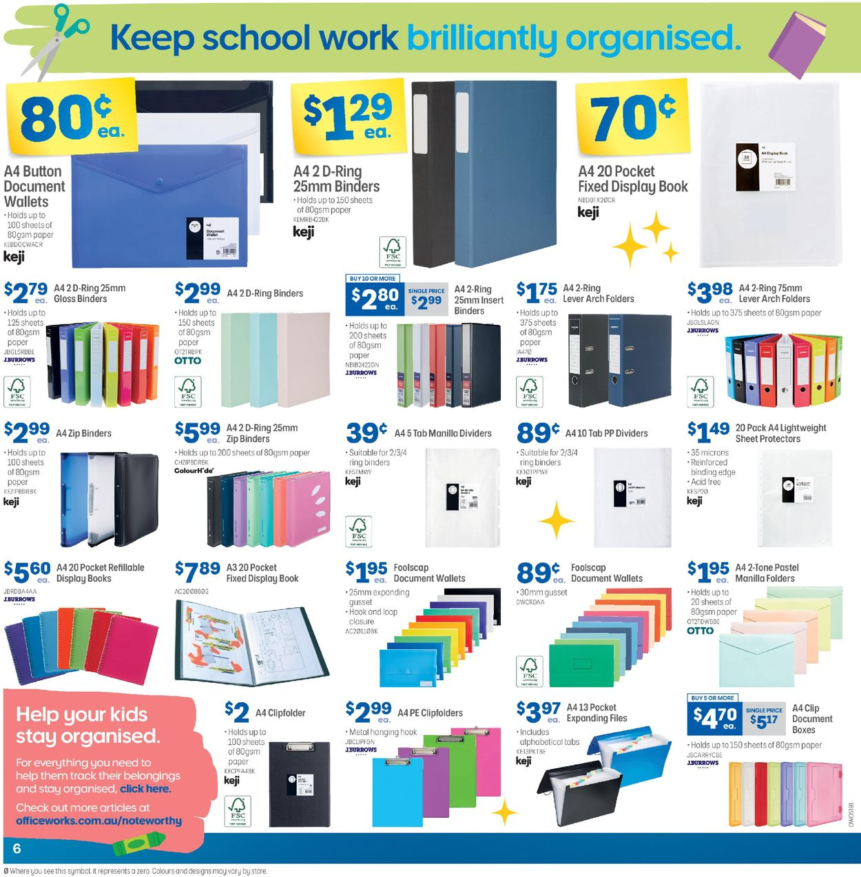 Officeworks Catalogue - 05/11-19/11/2020 (Page 6)