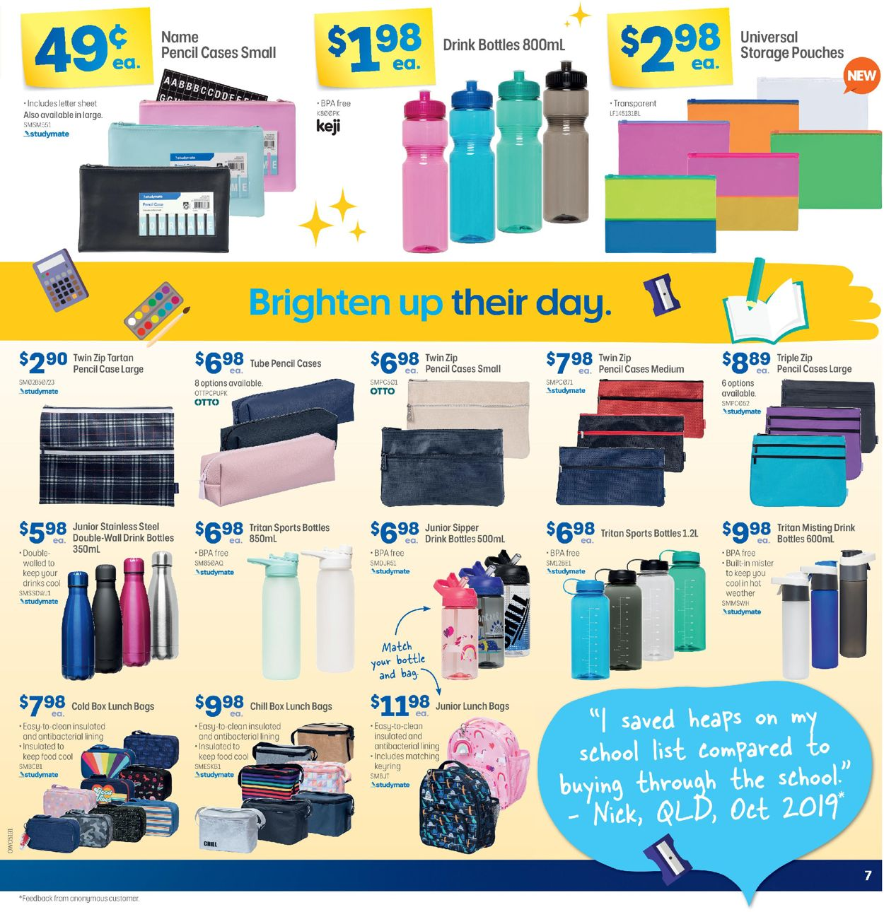 Officeworks Catalogue - 05/11-19/11/2020 (Page 7)