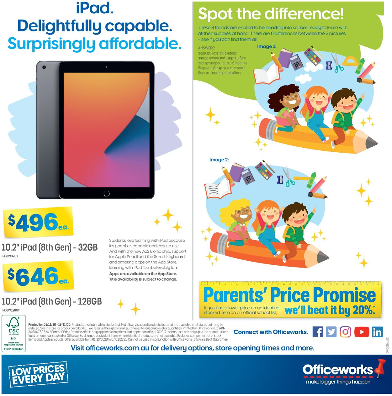 Officeworks Catalogue - 05/11-19/11/2020 (Page 8)