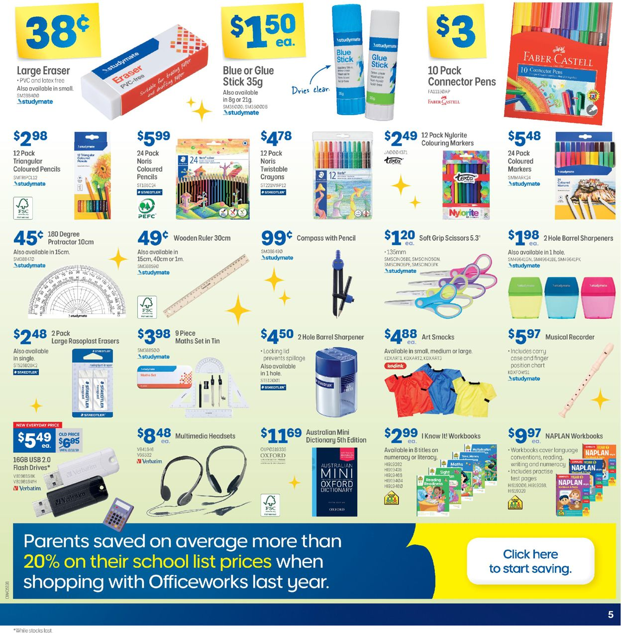 Officeworks - Holiday 2020 Catalogue - 26/11-26/12/2020 (Page 5)