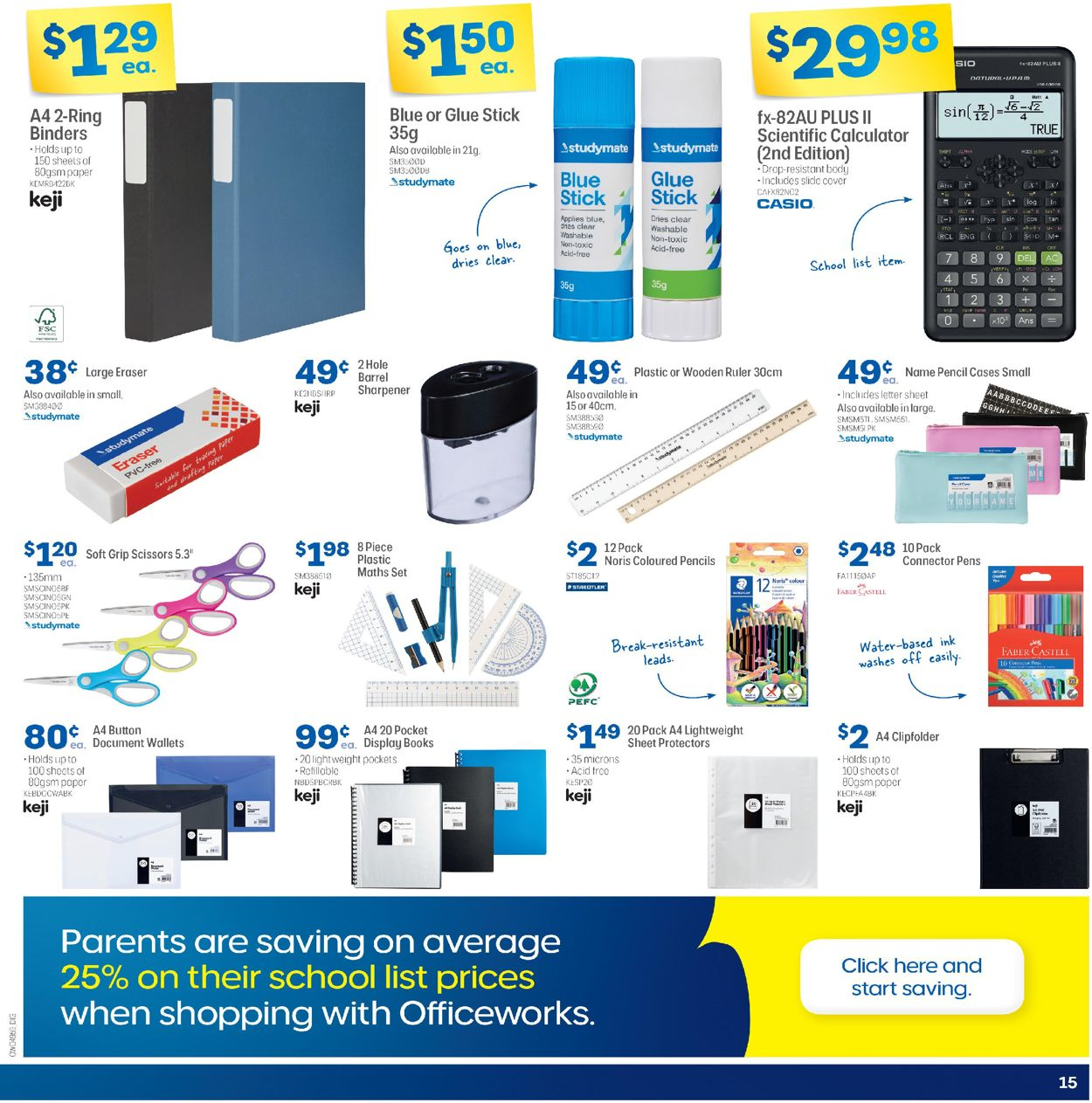 Officeworks - Christmas 2020 Catalogue - 17/12-24/12/2020 (Page 15)