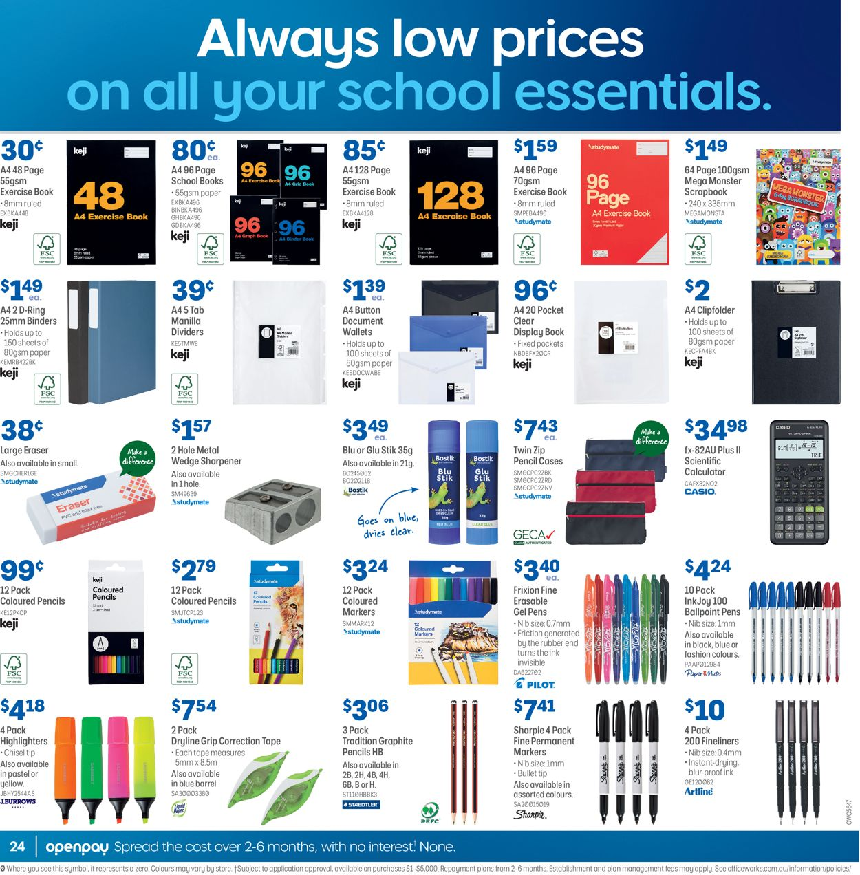Officeworks Catalogue - 08/07-22/07/2021 (Page 24)