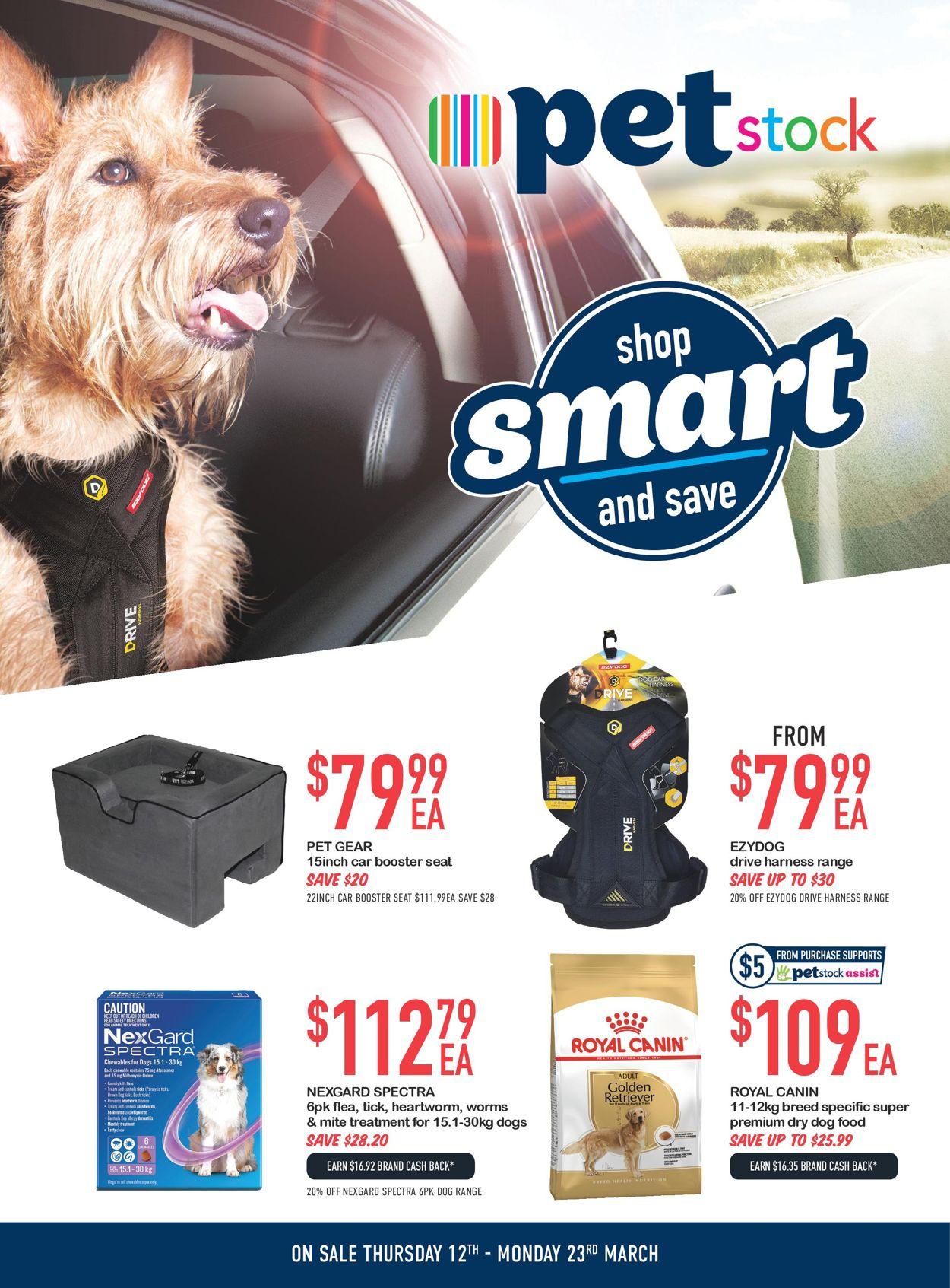 Pet Stock Catalogue - 12/03-23/03/2020