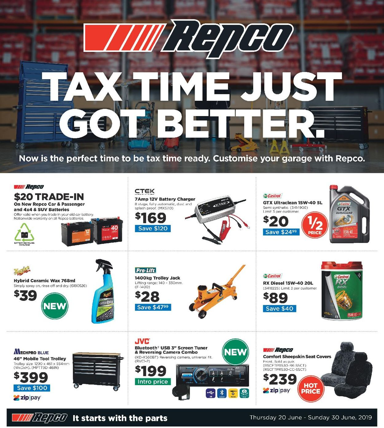 Repco Catalogue - 20/06-30/06/2019