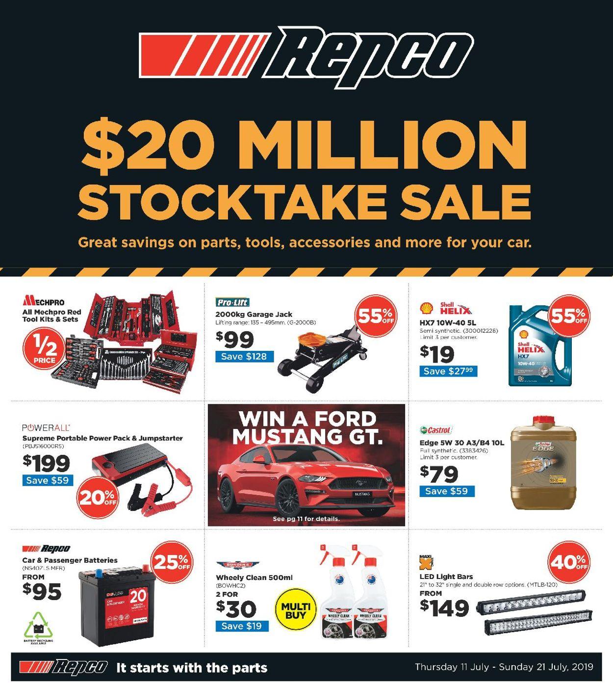 Repco Catalogue - 11/07-21/07/2019