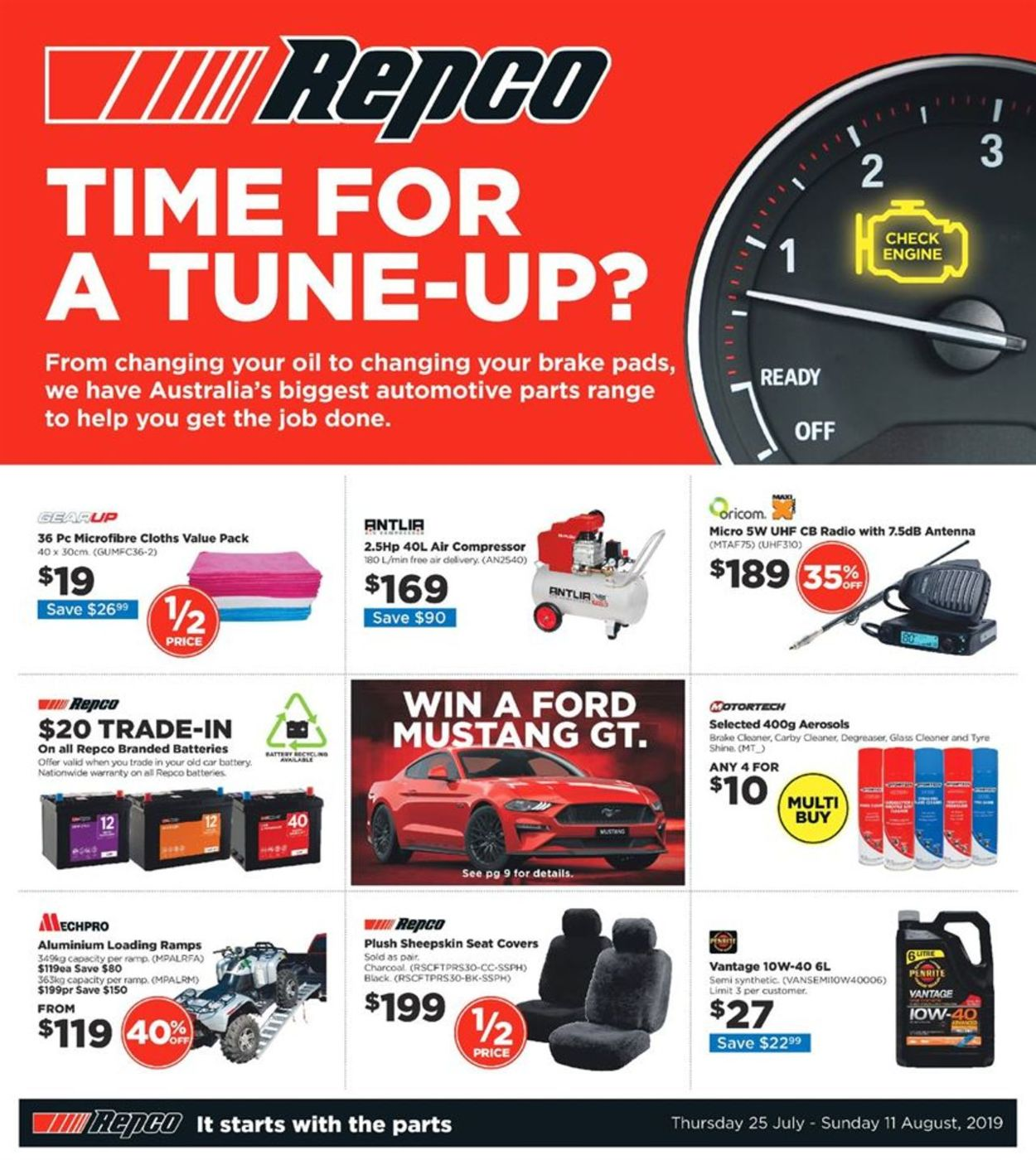 Repco Catalogue - 25/07-11/08/2019