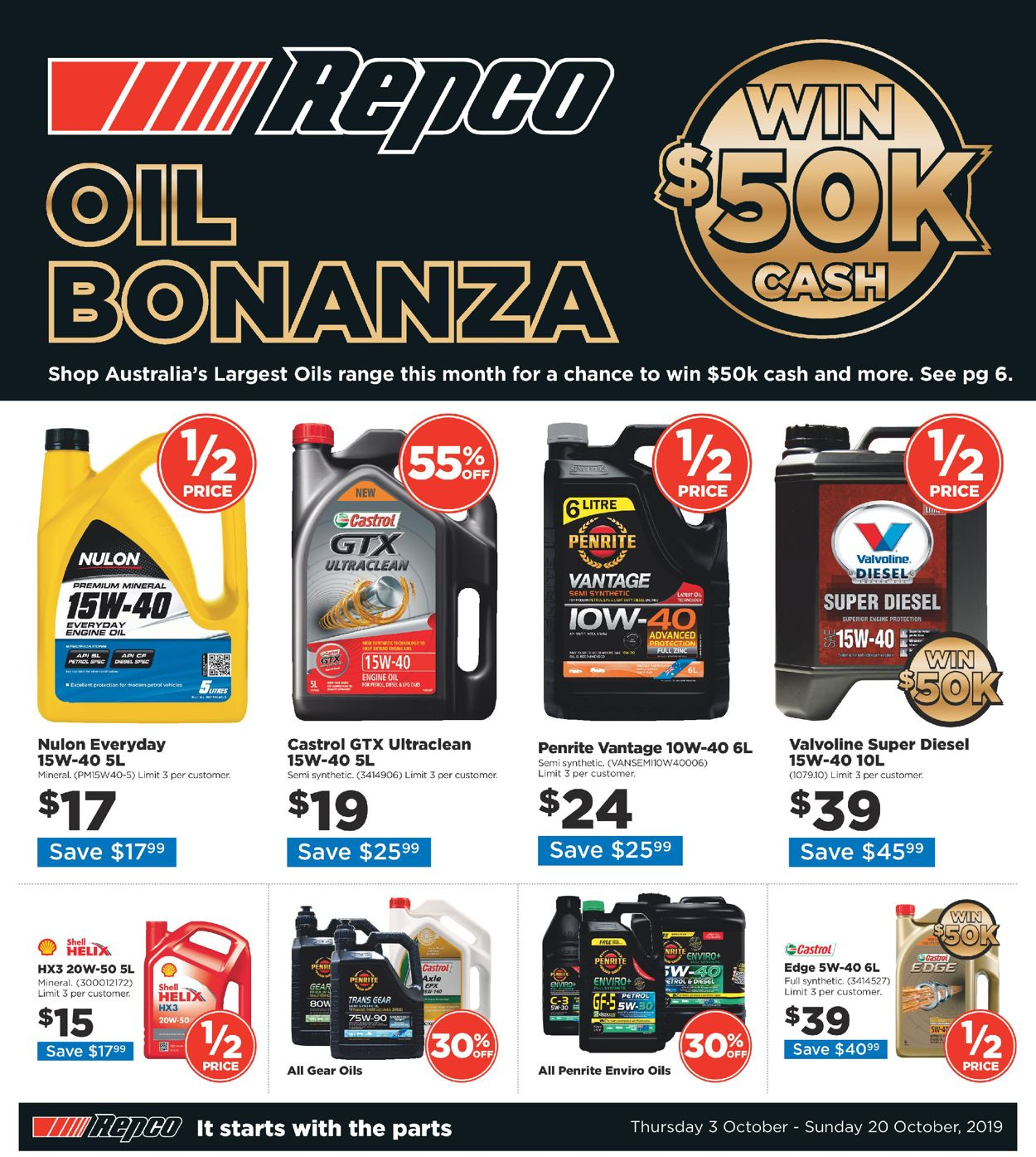 Repco Catalogue - 03/10-20/10/2019