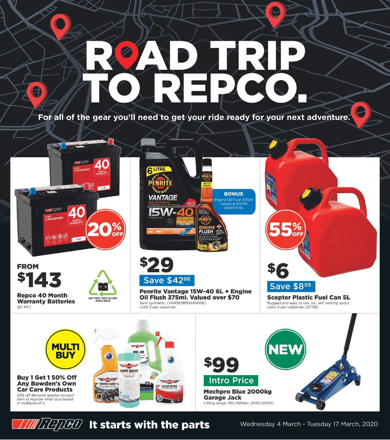 Repco Catalogue - 04/03-17/03/2020