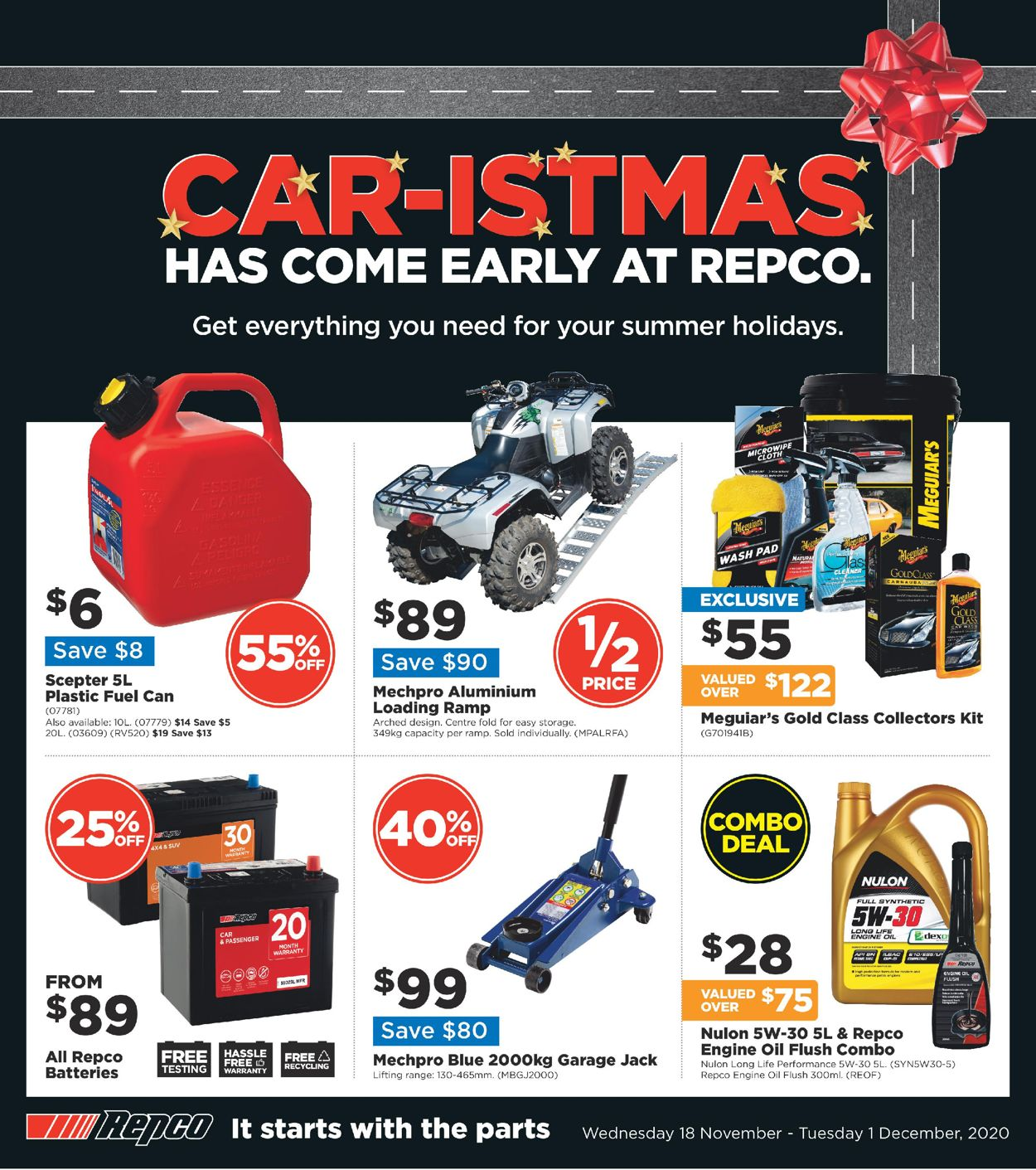 Repco Black Friday 2020 Catalogue - 18/11-01/12/2020