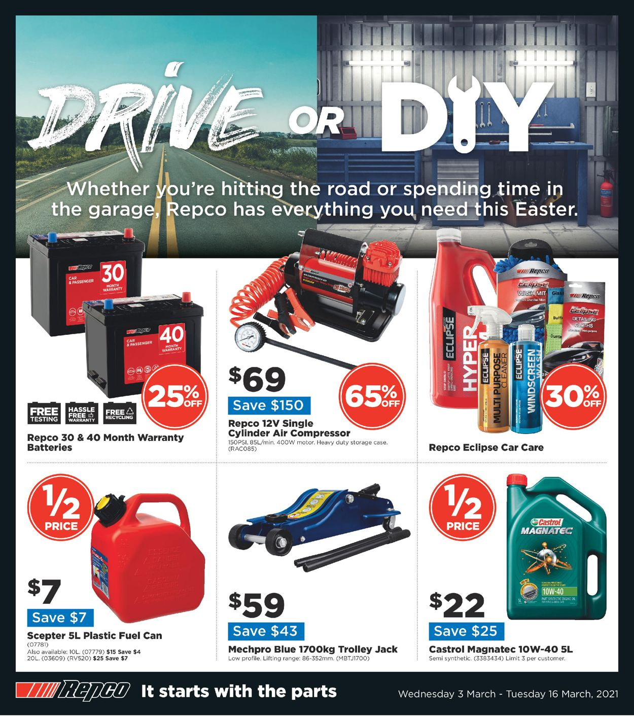 Repco Catalogue - 03/03-16/03/2021