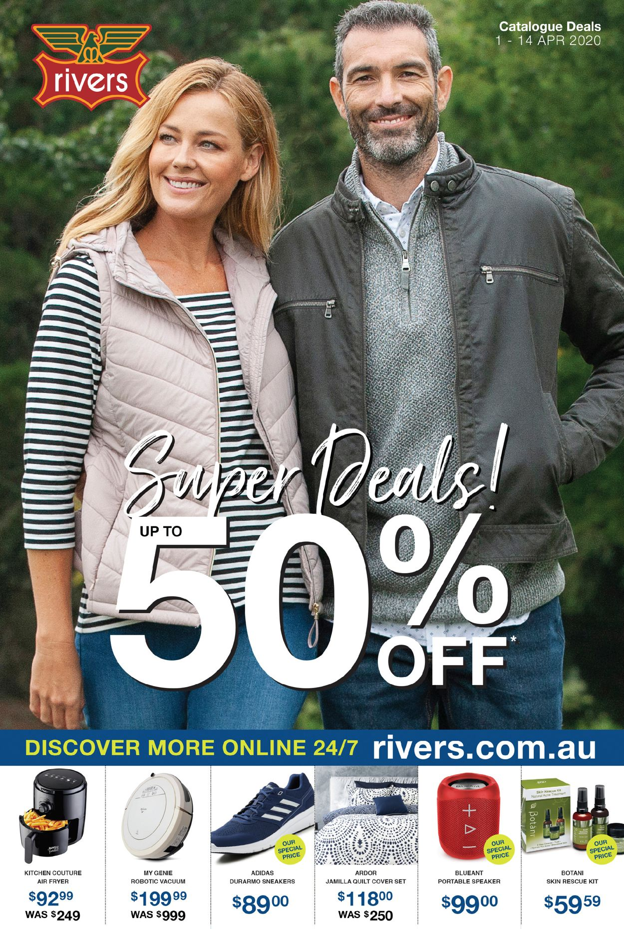Rivers Catalogue - 01/04-14/04/2020