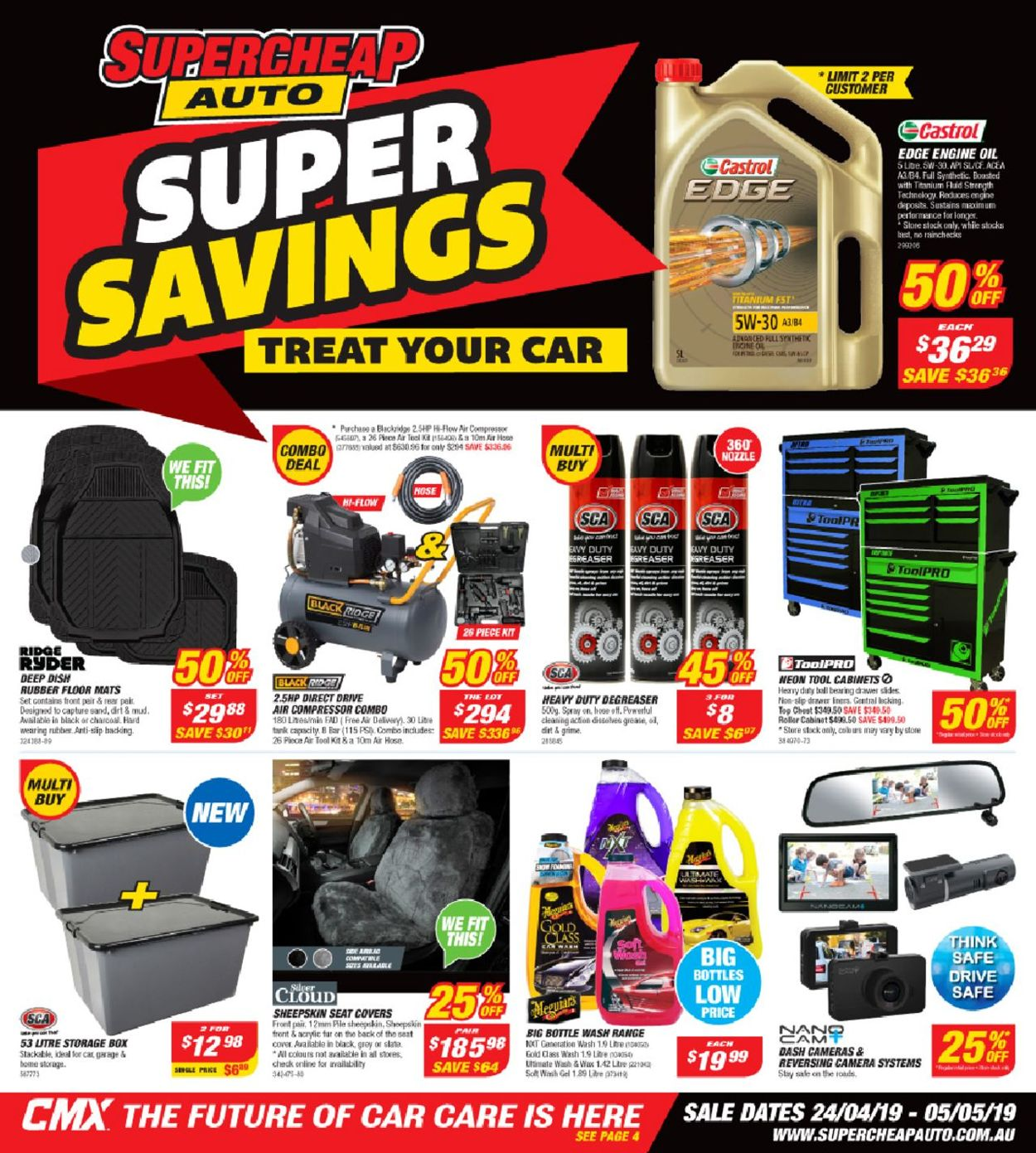 Supercheap Auto Catalogue - 24/04-05/05/2019