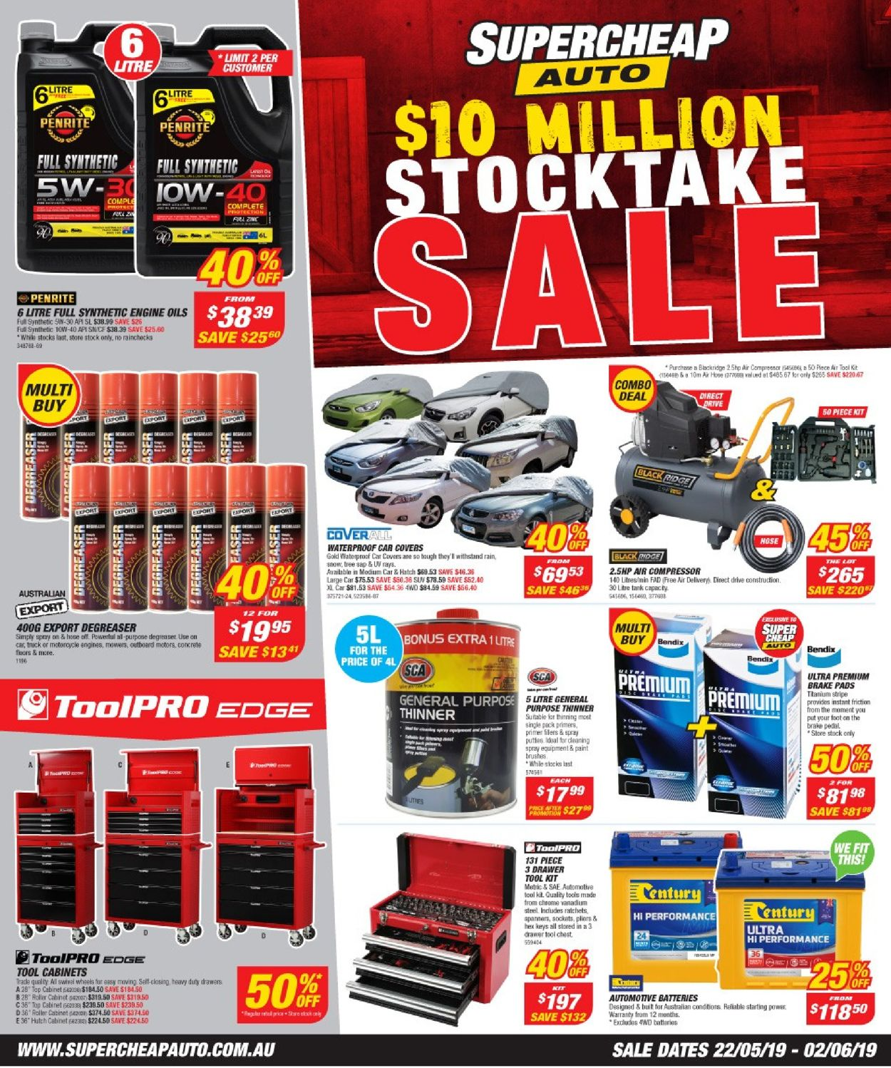 Supercheap Auto Catalogue - 22/05-02/06/2019