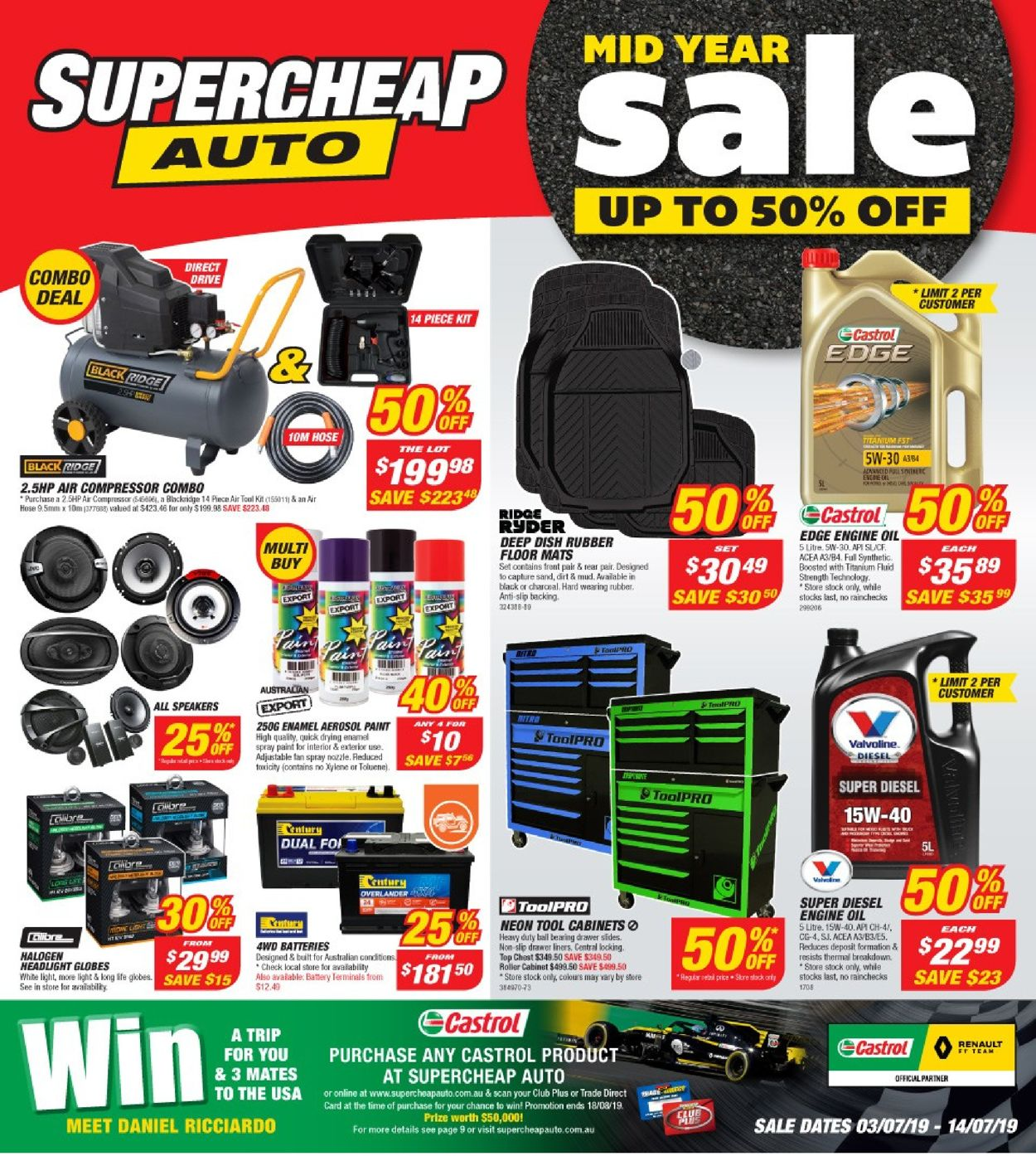 Supercheap Auto Catalogue - 03/07-14/07/2019