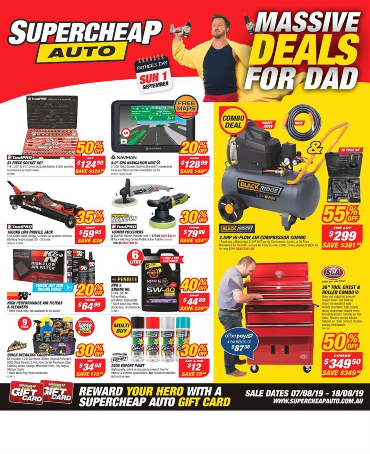 Supercheap Auto Catalogue - 07/08-18/08/2019