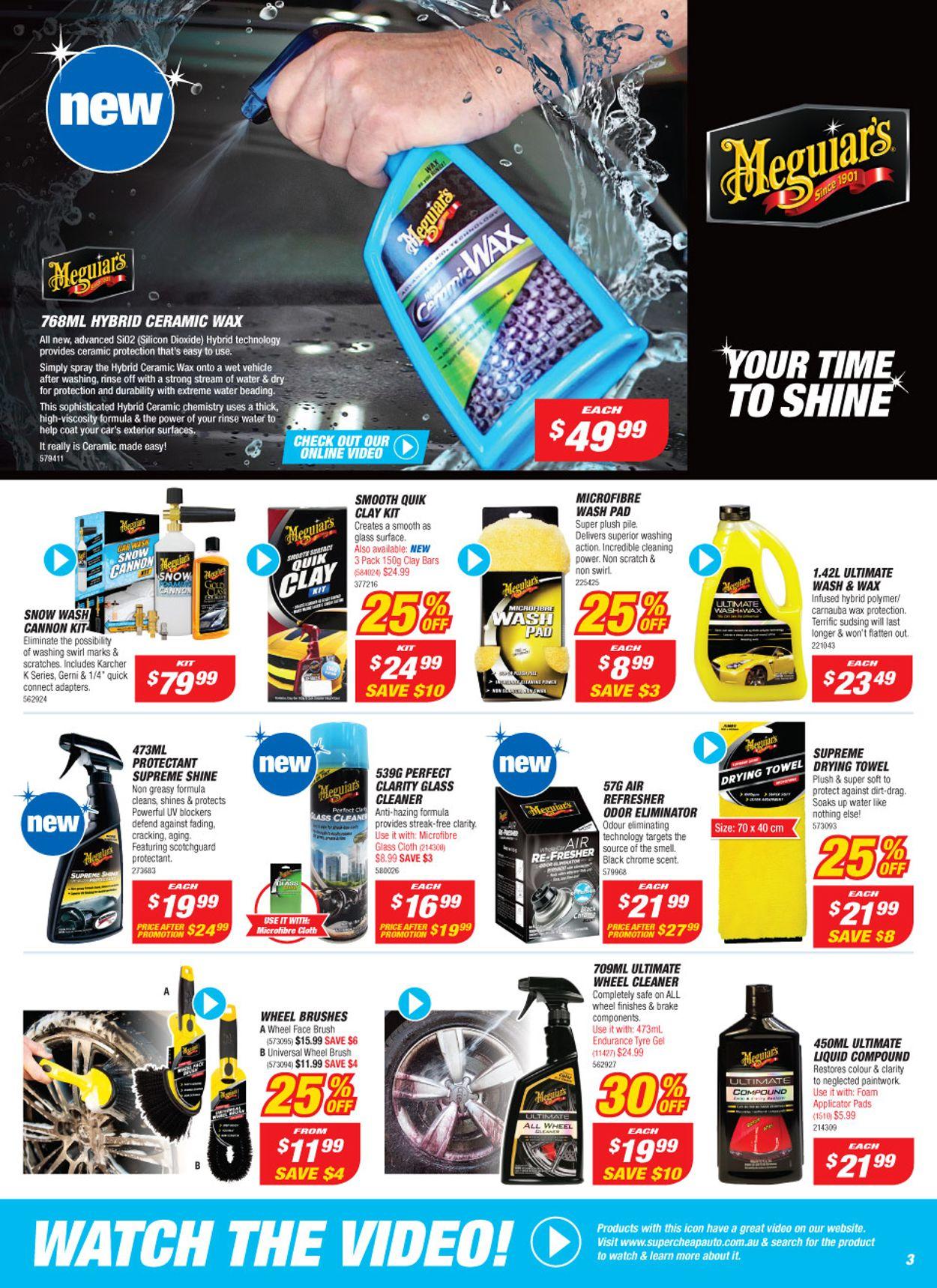 Supercheap Auto Catalogue - 23/10-03/11/2019 (Page 3)