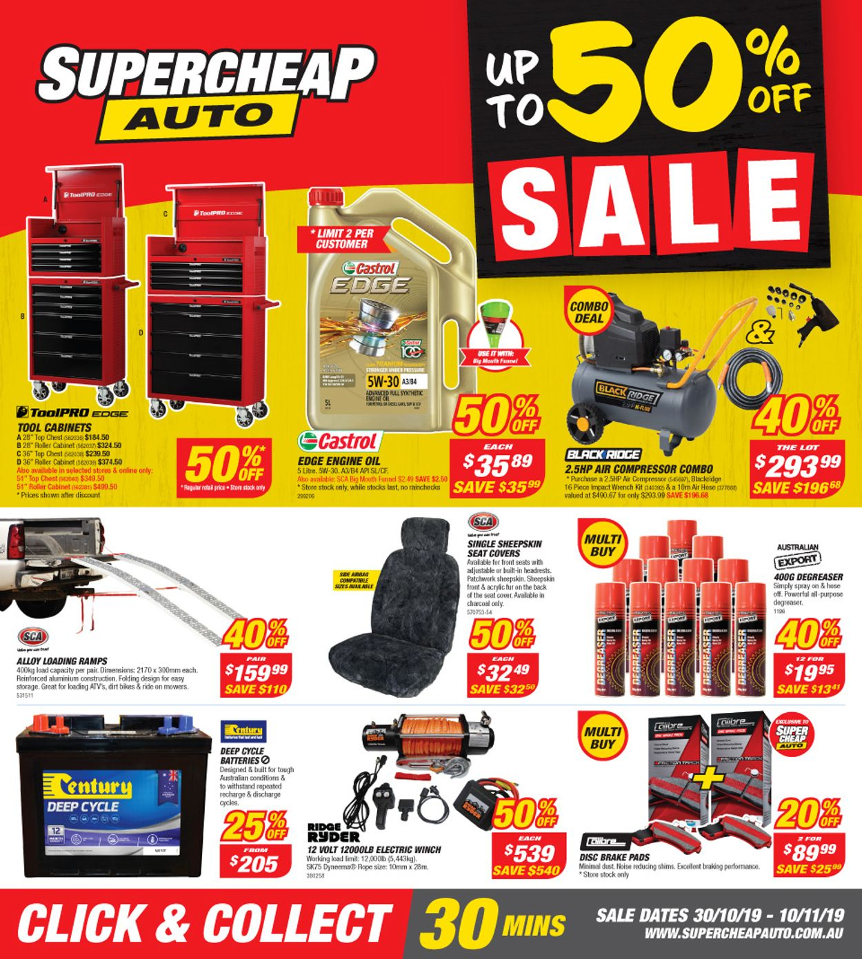 Supercheap Auto Catalogue - 30/10-10/11/2019