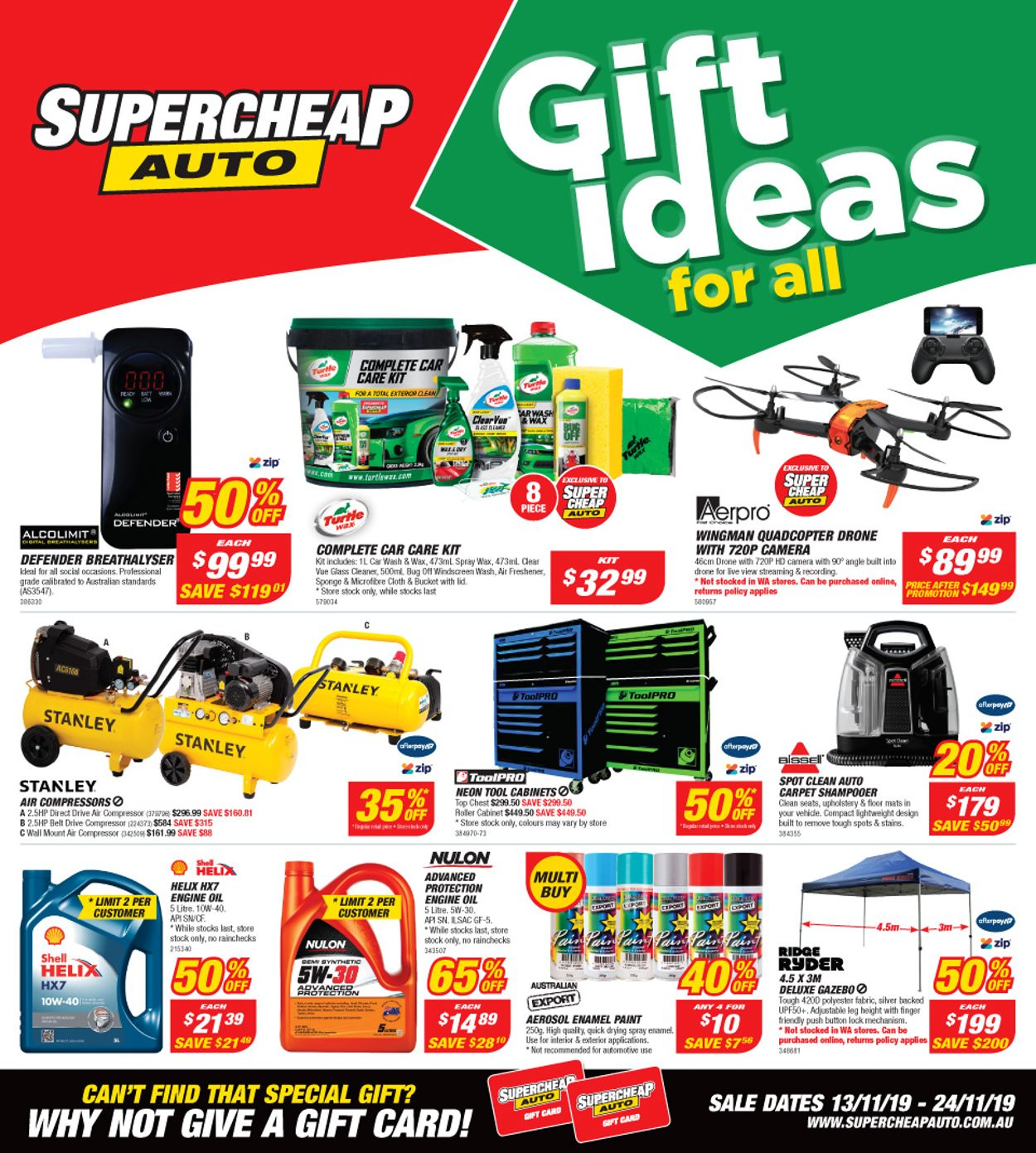 Supercheap Auto Catalogue - 13/11-24/11/2019