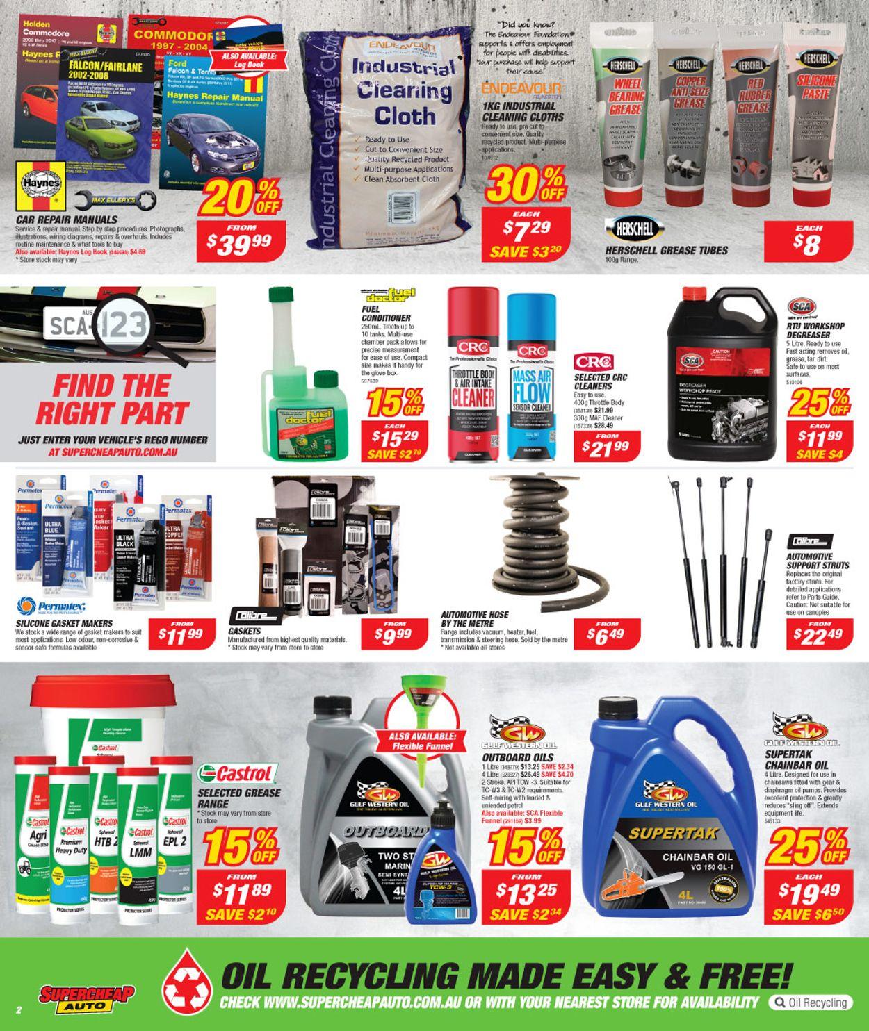Supercheap Auto Catalogue - 27/12-09/01/2020 (Page 2)