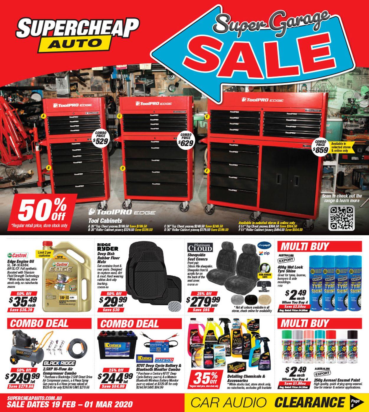 Supercheap Auto Catalogue - 19/02-01/03/2020