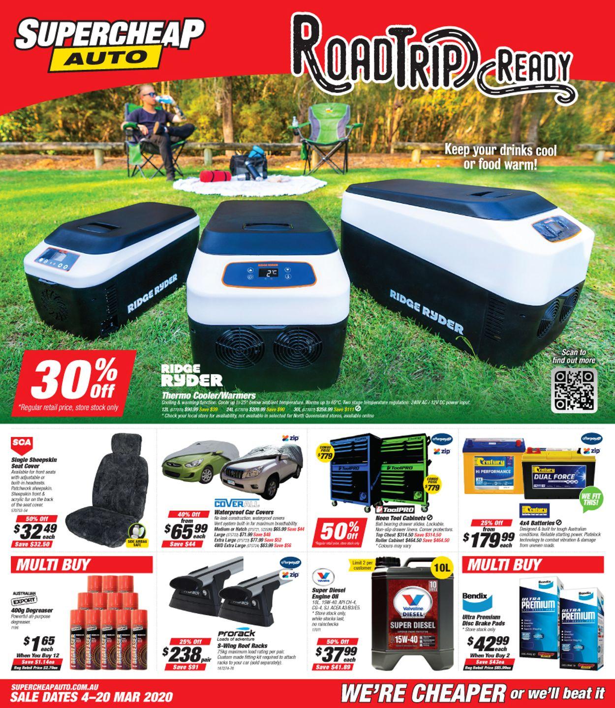 Supercheap Auto Catalogue - 04/03-20/03/2020
