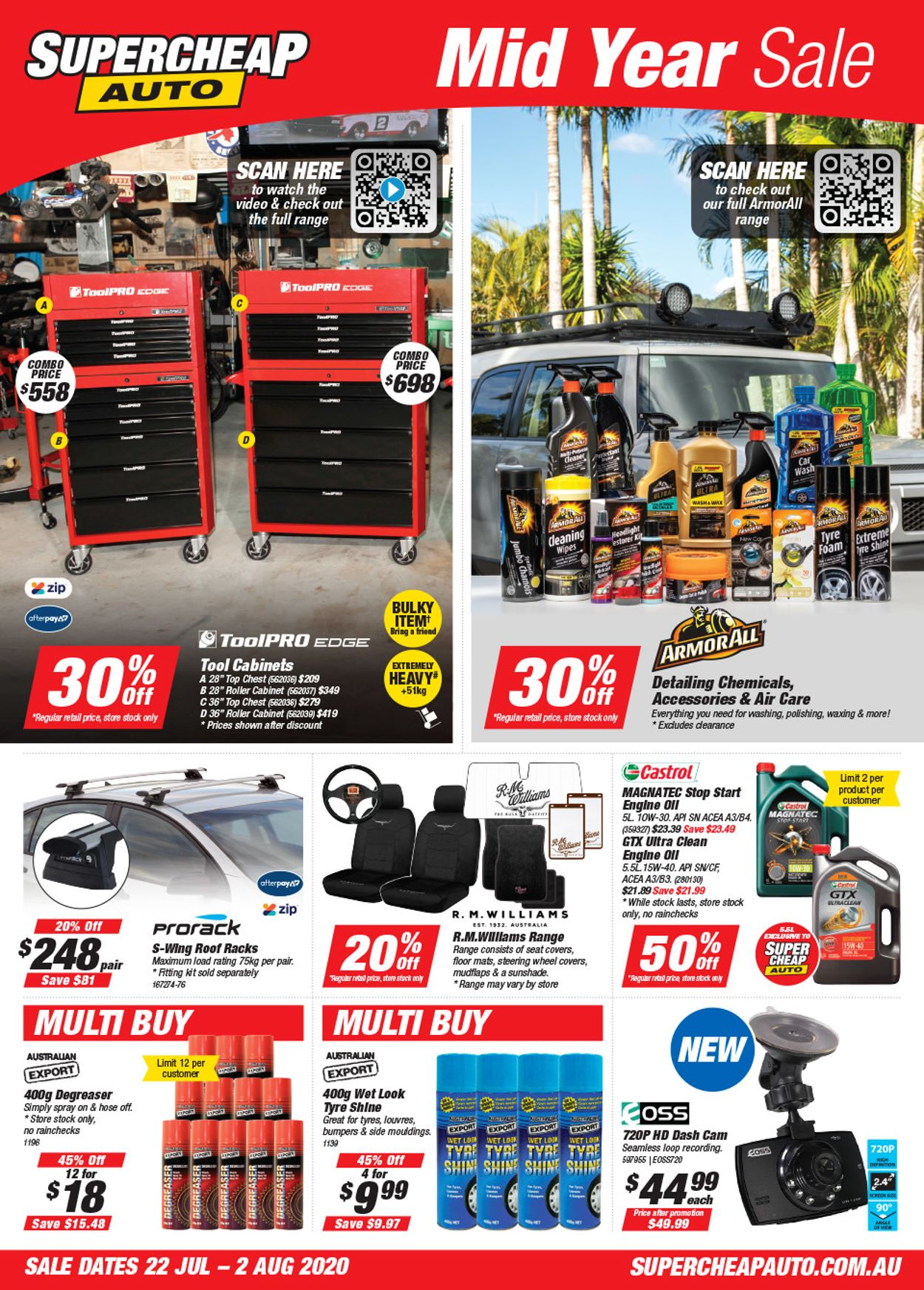 Supercheap Auto Catalogue - 22/07-02/08/2020